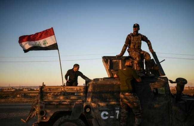 Iraqi forces in new push into Mosul
