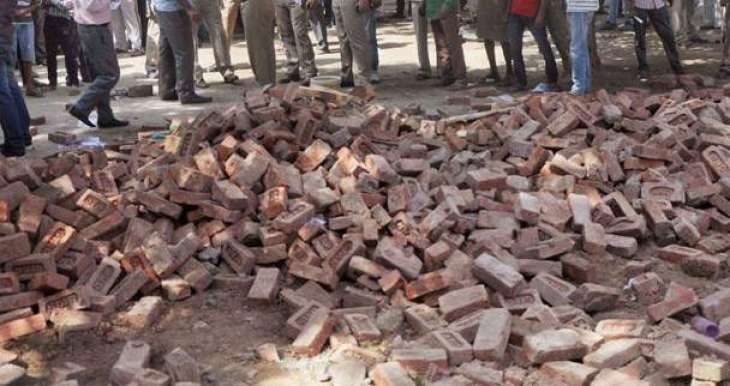 Two labourers killed in wall collapse
