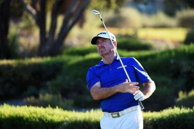 Golf: Aussie Pampling leads entering third round at Vegas