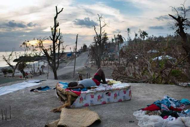 Haiti aid hard to come by one month after hurricane