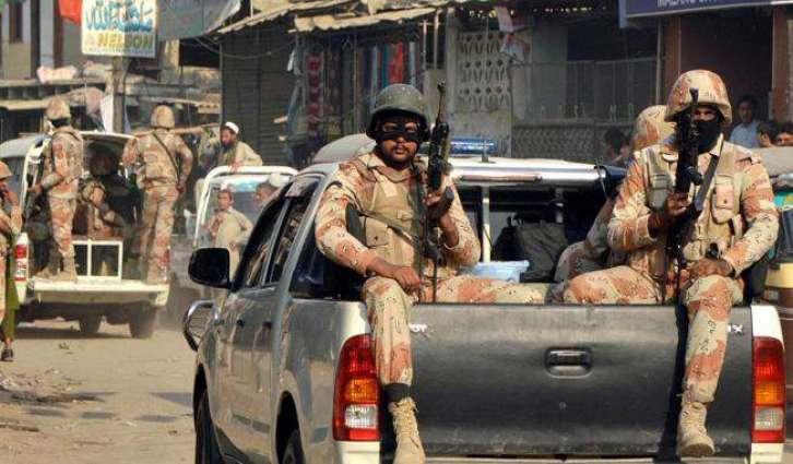 Rangers arrest two target killers