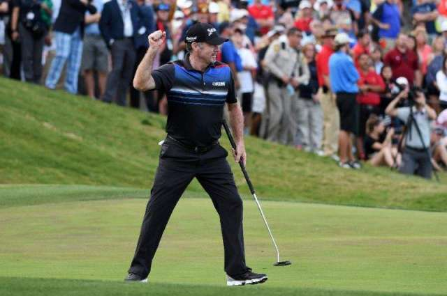 Golf: Pampling wins in Vegas to end 10-year US PGA win drought