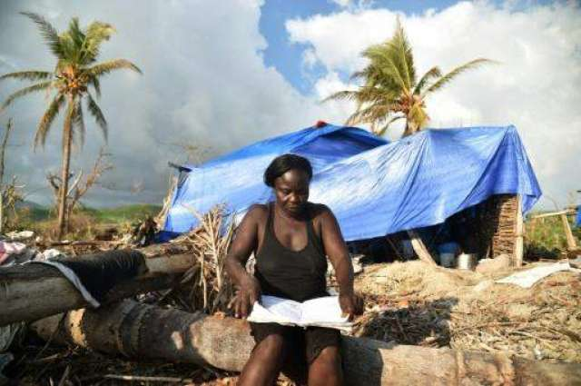 A month post-hurricane, Haiti's most vulnerable desperate for aid