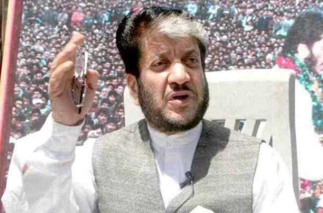 Shabir urges Delhi to accept ground realities on Kashmir