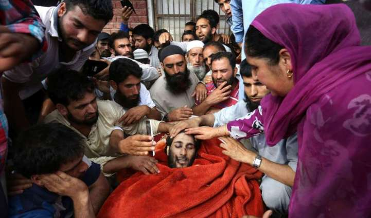 Indian forces martyr Kashmiri youth in Shopian