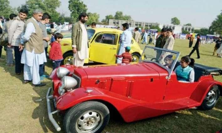Auto show organised in Peshawar
