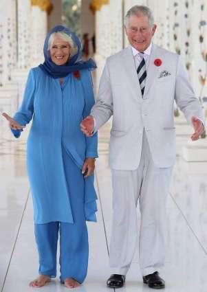 Prince Charles and Camilla visit Abu Dhabi's Sheikh Zayed Grand Mosque