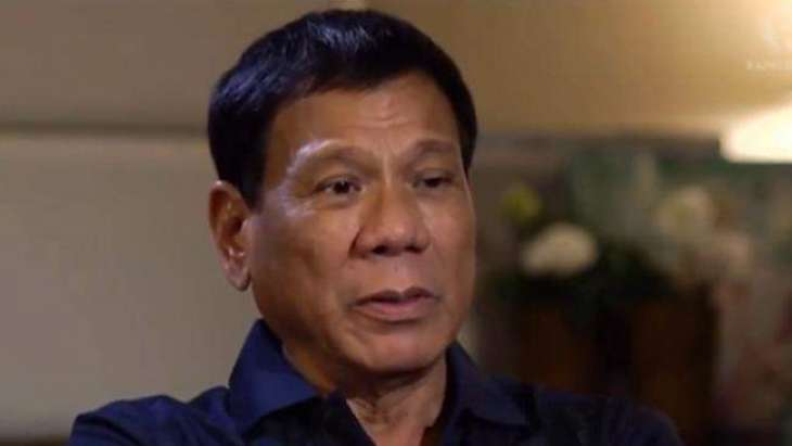 Philippines' Duterte cancels US rifle order