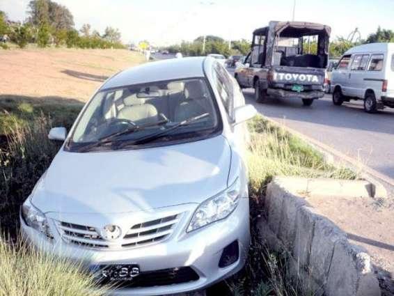 ٹریفک دے حادثے اچ ہک بندہ جاں بحق تھی گیا