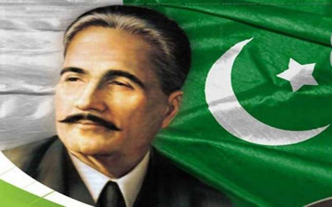 139th birth anniversary of Allama Iqbal on Wednesday