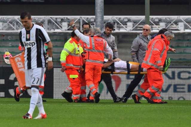 Football: Juve's Barzagli out for two months