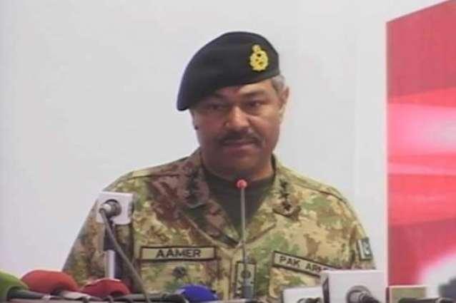 کمانڈر سدرن کمانڈ لیفٹیننٹ جنرل عامر ریاض نا 200 آن زیات فراری تا سلہہ بٹنگ و قومی دنگ اٹی اوار مننگ نا وخت آ دود آن تران