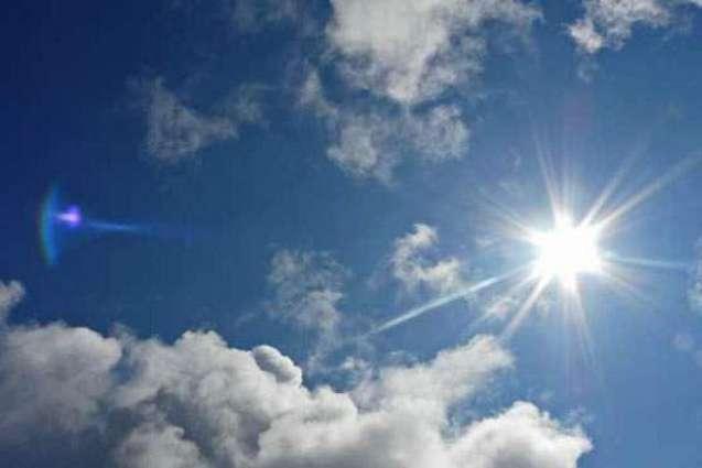 Sunny weather forecast for Karachi