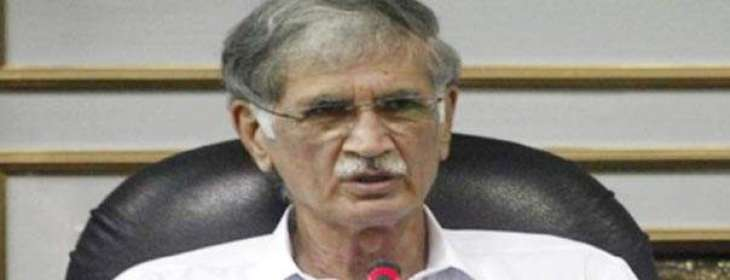 CM inquires health of founding member of PTI