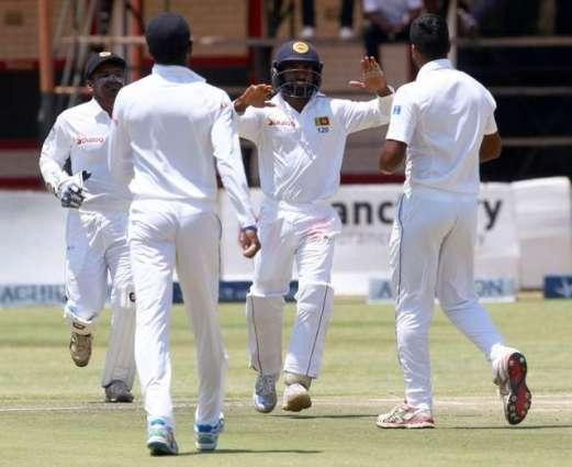 Cricket: Zimbabwe v Sri Lanka Test scoreboard at Tea