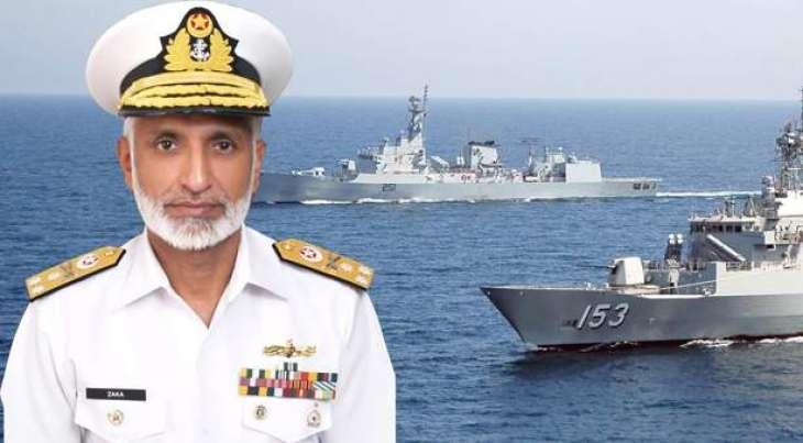 قائد القوات الجوية الملكية السعودية يزور مقر القوات البحرية الباكستانية بإسلام آباد