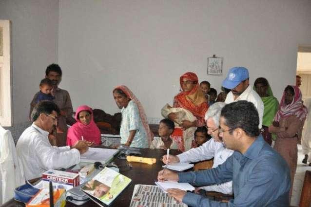 DCO visits basic health units