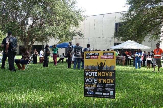 Voter turnout 'explodes' among blacks, Hispanics in US