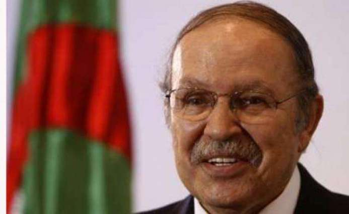 Algerian president in France for medical checks