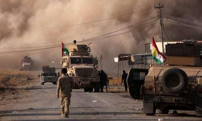 Kurdish forces retake town of Bashiqa near Mosul: official