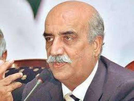 Imran is strengthening Nawaz, Khursheed Shah claims