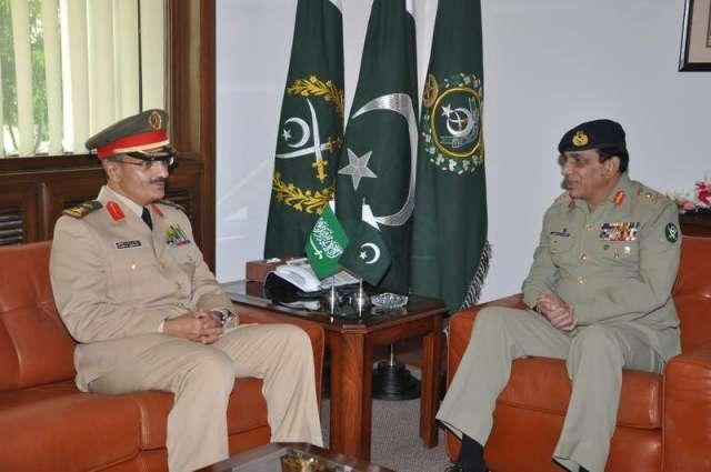 Commander Royal Saudi Air Force calls on CJCSC