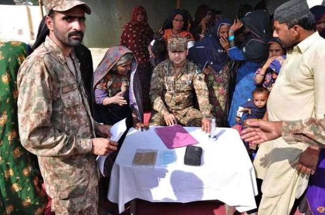 Pakistan Army organizes free medical camp in Tharparkar village