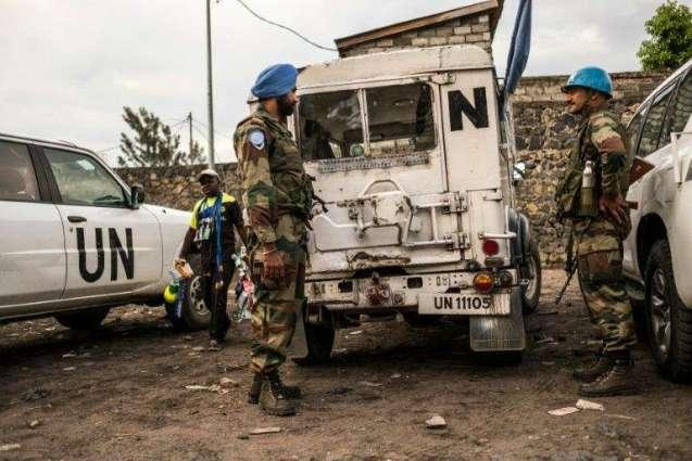 DR Congo blast kills schoolgirl, injures peacekeepers