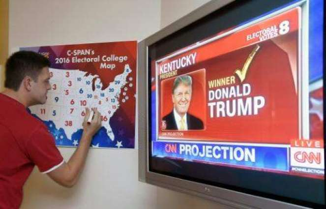 US Election Night: Electoral college count