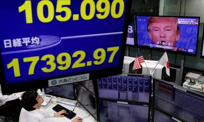 Markets, dollar plunge as Trump heads for victory