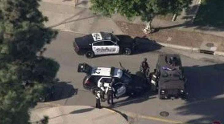 One killed near California polling sites, shooter found dead