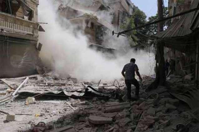 US-led coalition strike kills 16 civilians near Raqa: monitor