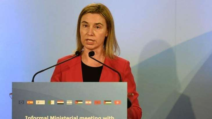 EU will continue to 'work together' with US: Mogherini