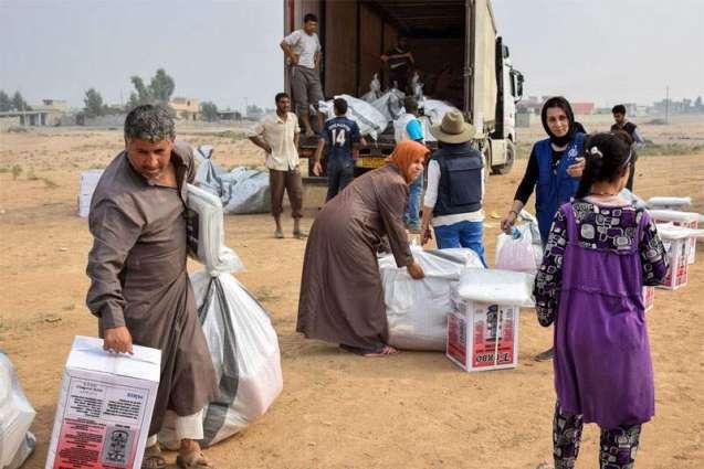 42,000 displaced since start of Mosul assault: IOM