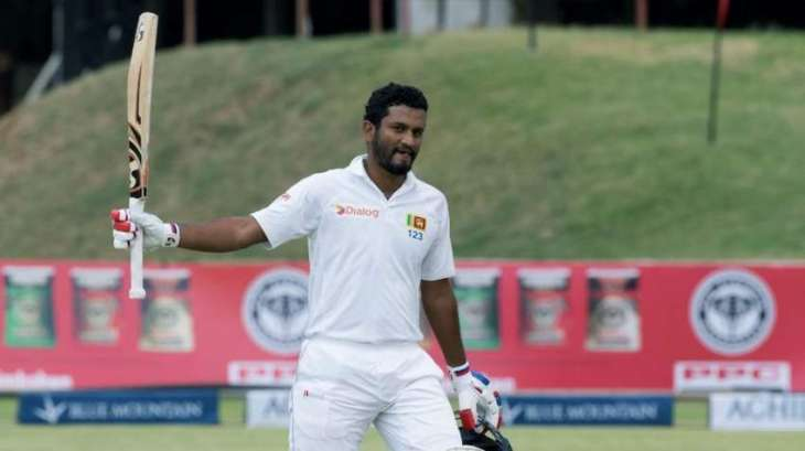 Cricket: Karunaratne nudges Sri Lanka lead past 400