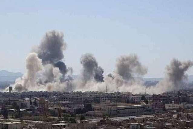 US-led coalition strike kills 20 civilians near Raqa: monitor