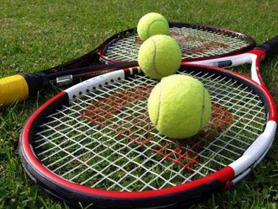 Top seed Kashan enters into IGP Khurshid Alam Memorial Tennis semis