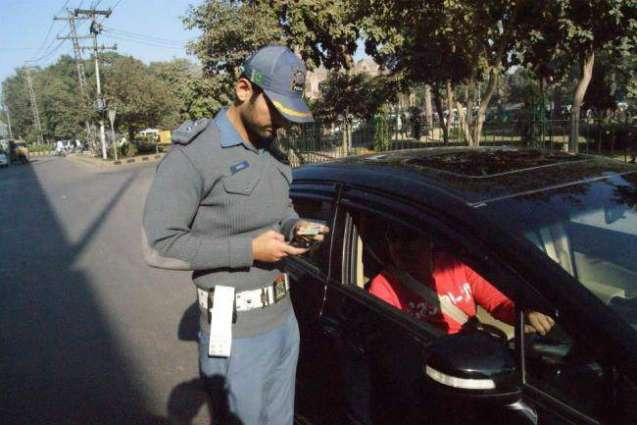 46 vehicles challaned, 9 impounded