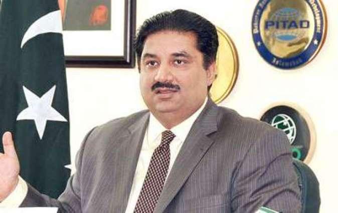 بنجائی وزیر واپار انجینئر خرم دستیگر خان نا دود آن تران