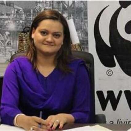 وزیر مملکت برائے اطلاعات و نشریات مریم اورنگزیب دا اعلی سطحی اجلاس نال خطاب