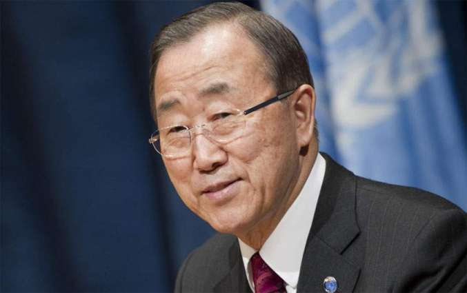 UN counts on Trump to combat climate change, advance rights: Ban