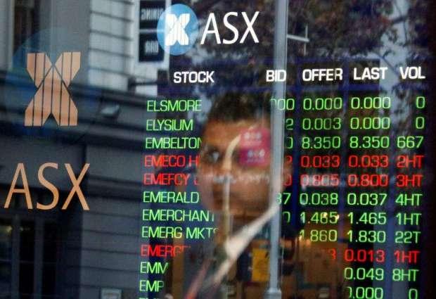 Australian shares end 3.34% higher