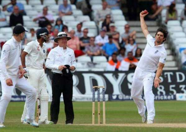 India v England first Test scoreboard
