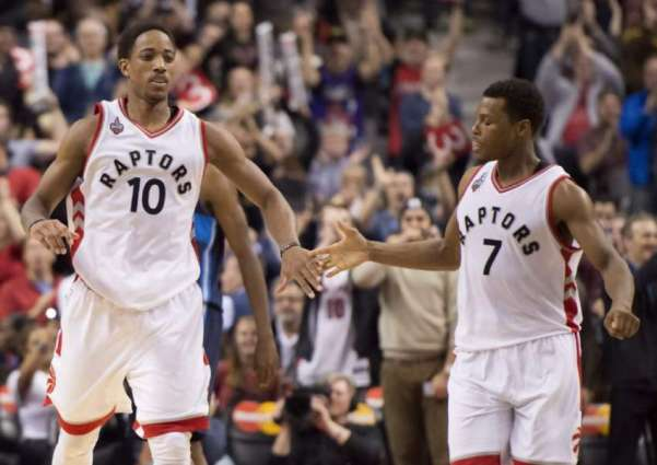 DeRozan's Raptors bust through Thunder's stingy defence