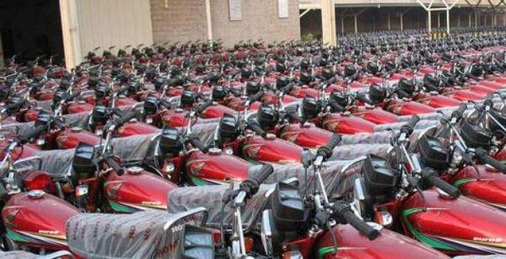 Motorcycle production up by 12.66 % 2 months