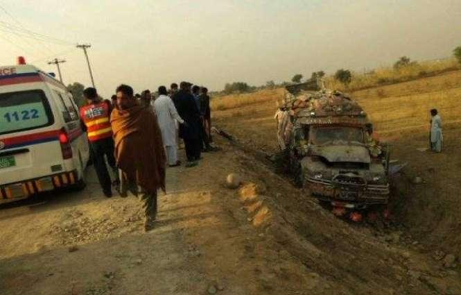 24 injured as bus overturned near Jehlum