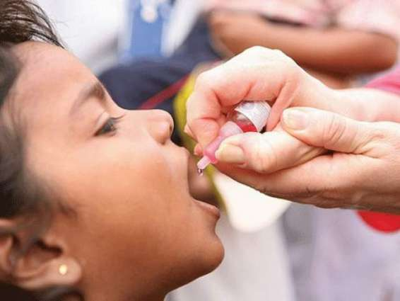 862 million children vaccinated polio drops in last two years