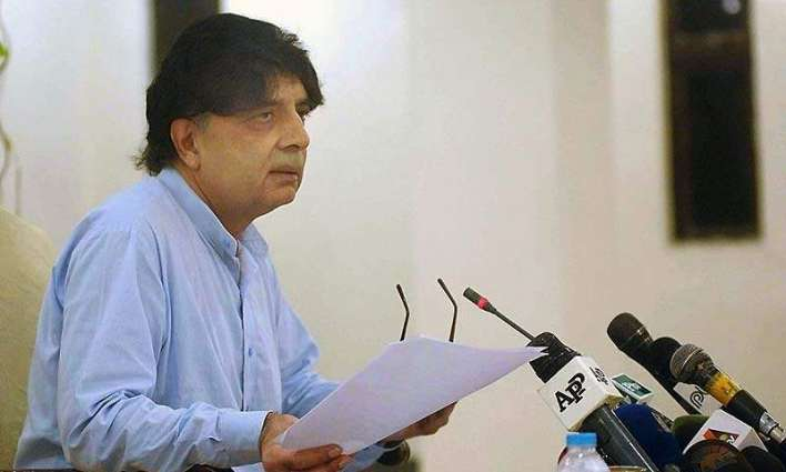 Nisar expresses grief over loss of precious lives in Rangers