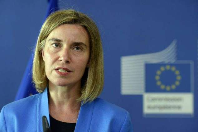 EU a peace 'superpower', Mogherini says after Trump win