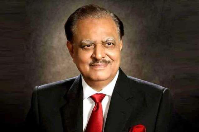 Outgoing Sindh governor calls on President Mamnoon